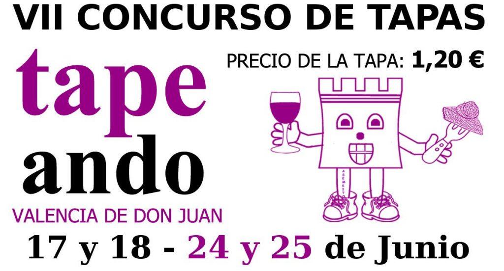 """VII Concurso de tapas """"TAPEANDO"""""""